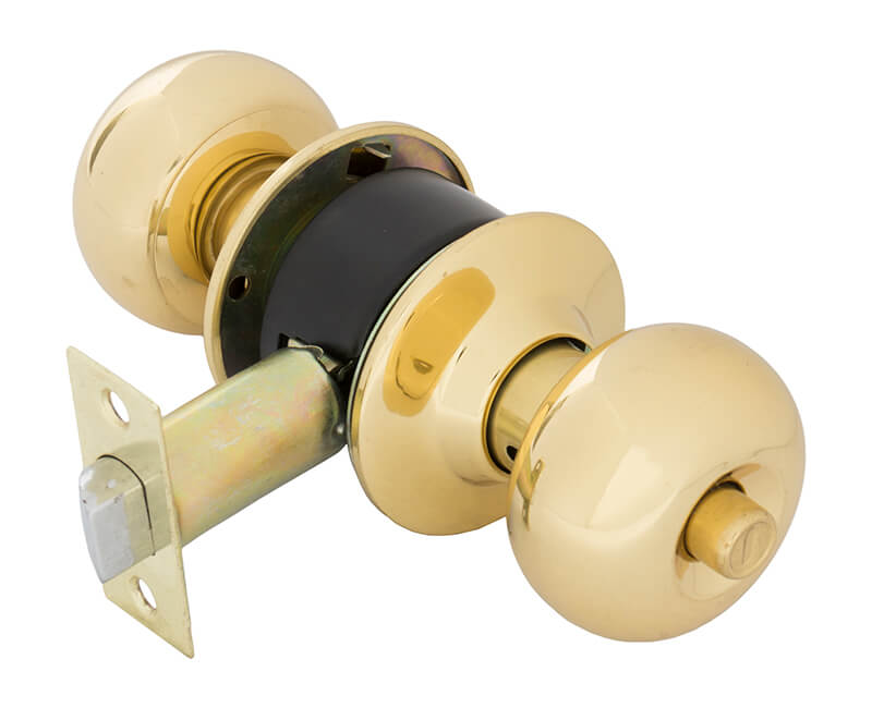Cylindrical Privacy Lockset - US3