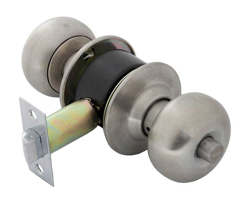 Cylindrical Privacy Lockset - 26D