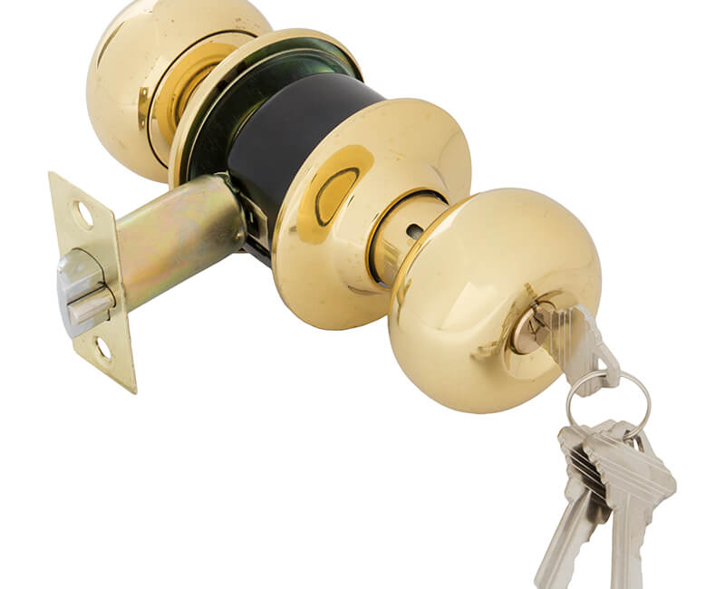 Cylindrical Entry Lockset - US3 Carded