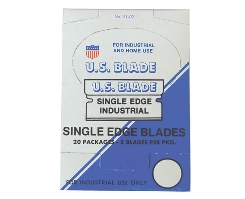 #9 Single Edge Razor Blade - 5 Per Pack
