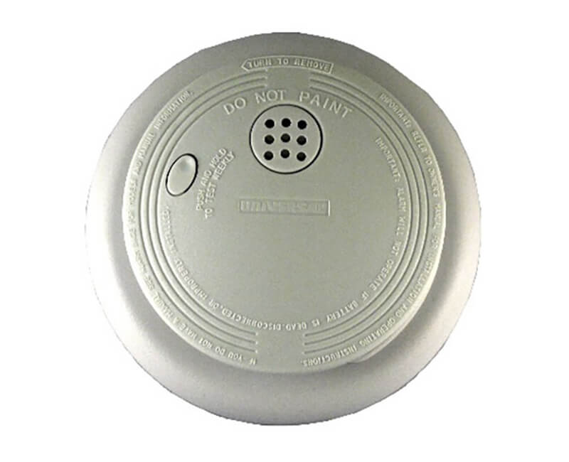 DC Battery Smoke Detector With Large Ring