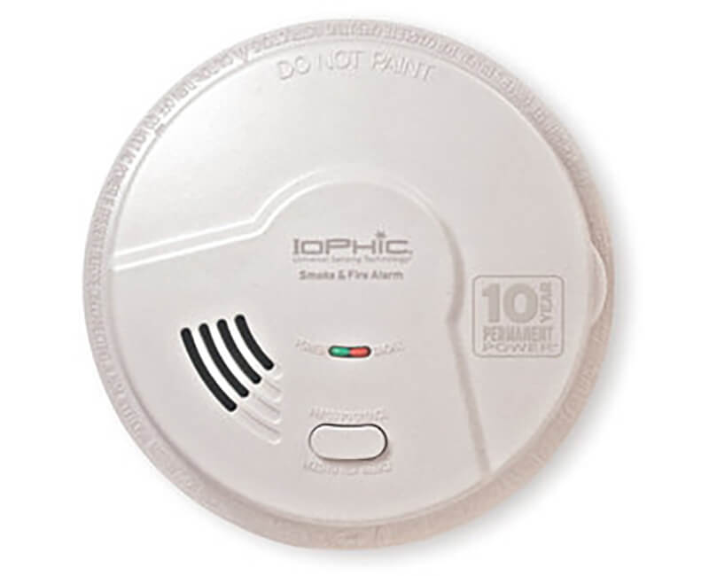 2 In 1 Bedroom Smoke Detector With Smart Alarm