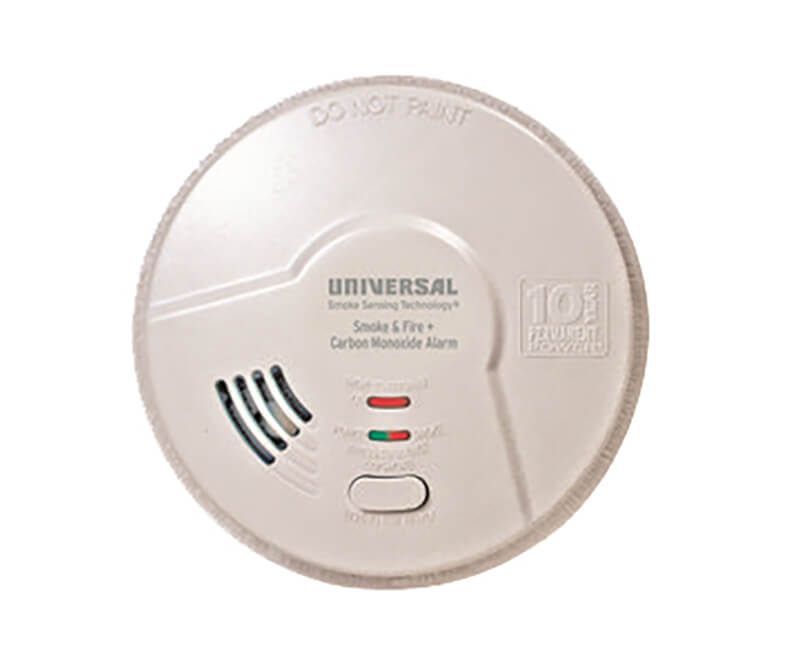 3 In 1 Hallway Smoke and Carbon Monoxide Detector With Smart Alarm