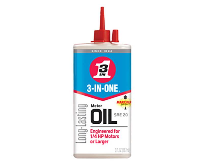 3 OZ. 3-In-1 Motor Oil
