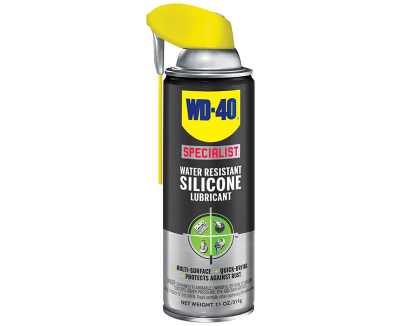 11 OZ. Water Resistant Silicone Lubricant