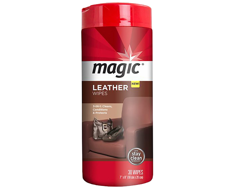 Magic Leather Wipes - 30 Ct. Per Canister