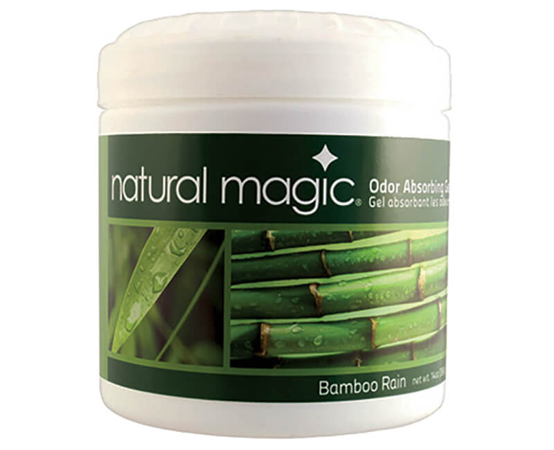 14 OZ. Bamboo Rain Natural Magic Odor Absorbing Gel
