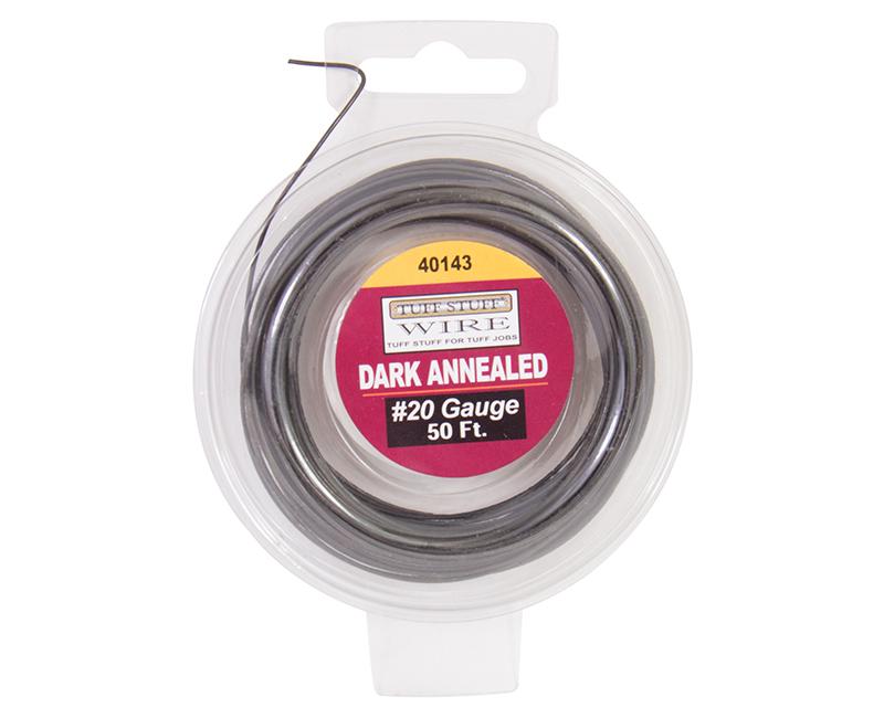 #20 Dark Annealed Wire - 50'
