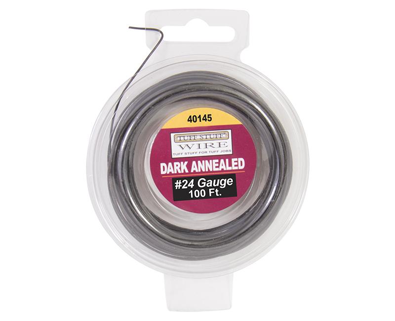 #24 Dark Annealed Wire - 100'