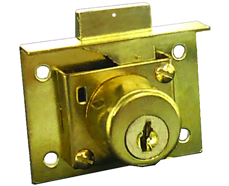 DRAWER LOCK RECTANGULAR STYLE KD CARDED
