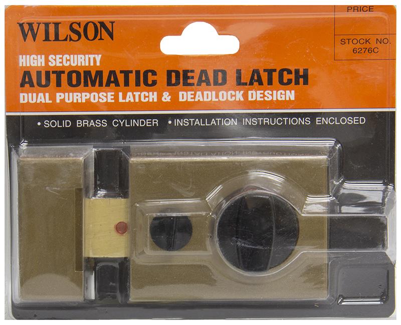 AUTOMATIC DEADLATCH LOCK DUAL LATCH & DEADLOCK DESIGN