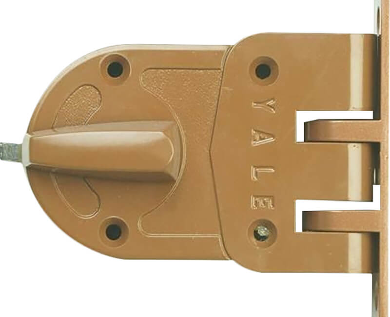 Angle Strike For Jimmy Proof Lock