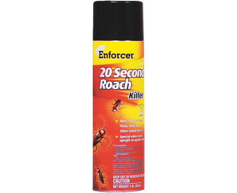 16 OZ. 20 Second Roach Killer
