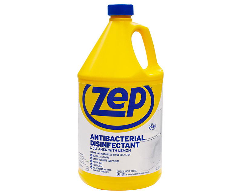 ZEP ANTI-BACTERIAL DISINFECTANT CLEANER 1 GAL