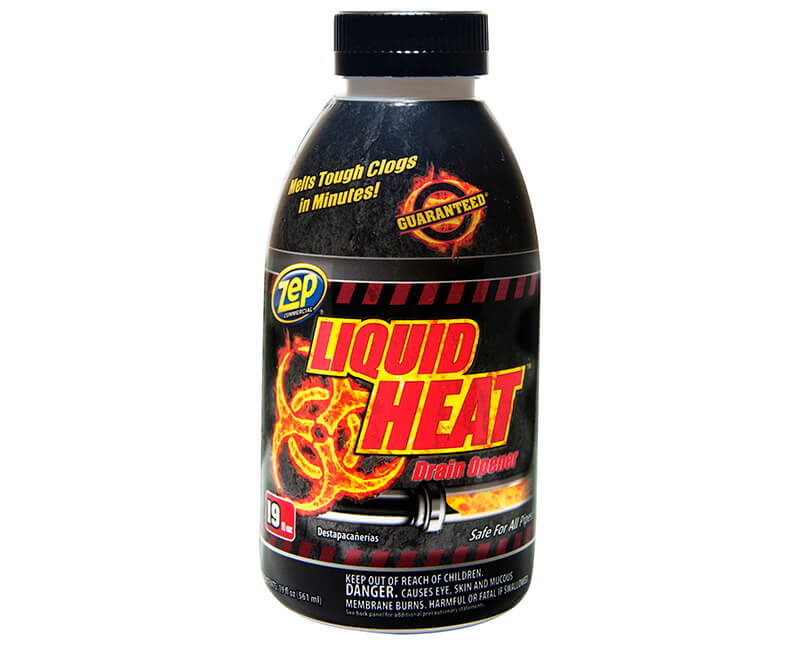 34 OZ. Commercial Liquid Heat Drain Opener